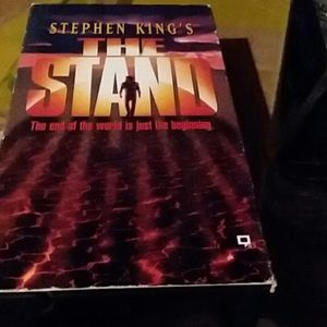 VCR Tape The Stand by Steven King's.